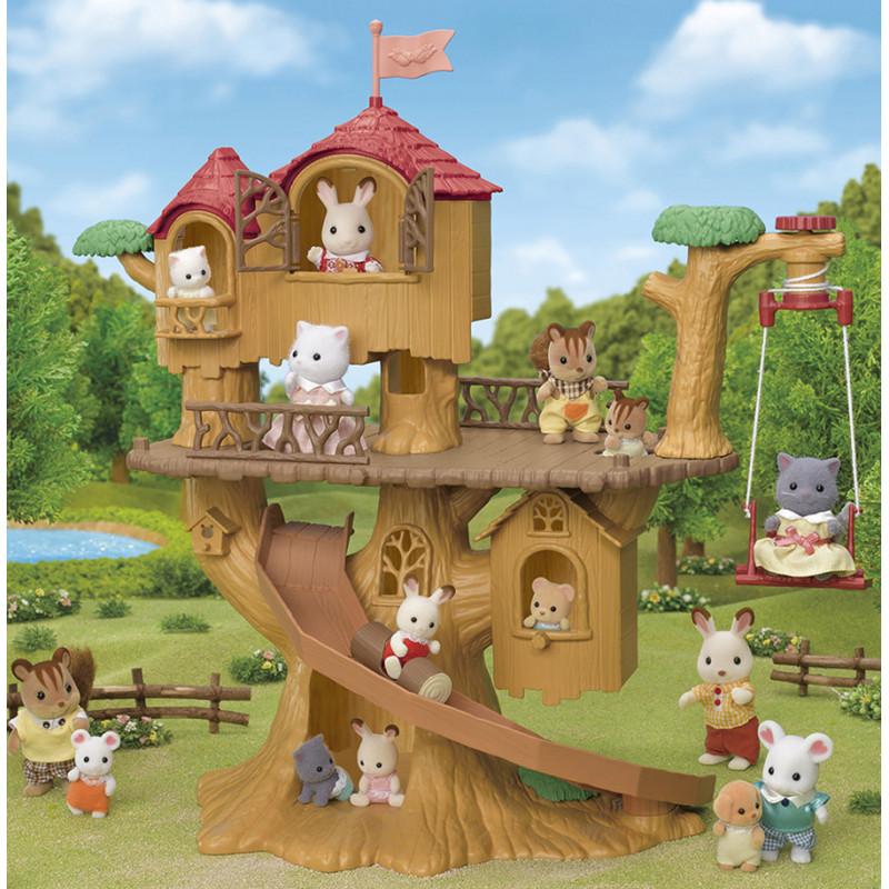 La cabane dans les arbres Sylvanian Family