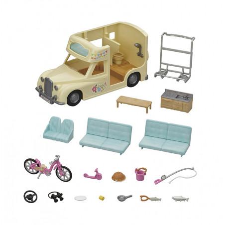 Le camping car de Sylvanian Family - 6