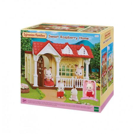 La maison framboise de Sylvanian Family - 1