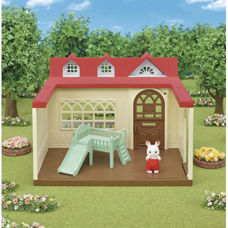La maison framboise de Sylvanian Family - 2