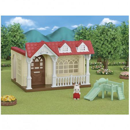 La maison framboise de Sylvanian Family - 3