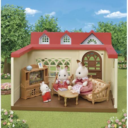 La maison framboise de Sylvanian Family - 4