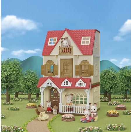 La maison framboise de Sylvanian Family - 6