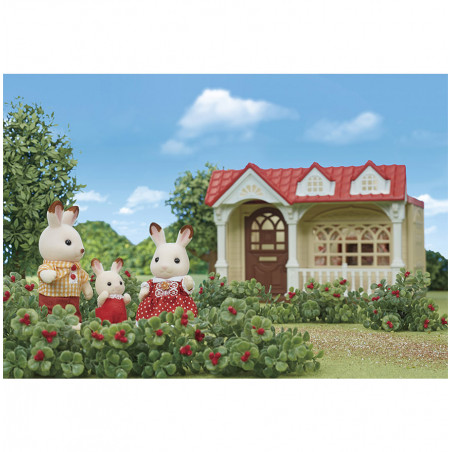 La maison framboise de Sylvanian Family - 8