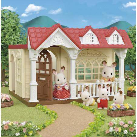 La maison framboise de Sylvanian Family