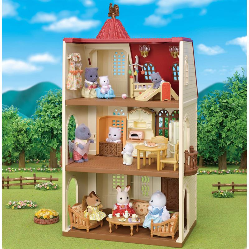 La maison avec ascenseur Sylvanian Family