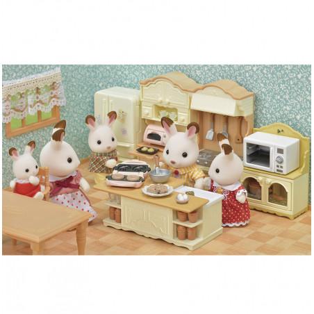 Le buffet et micro-ondes de Sylvanian Family - 6