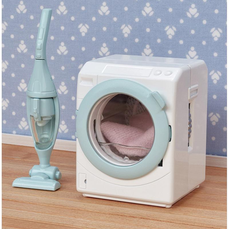 La machine à laver et aspirateur Sylvanian Family