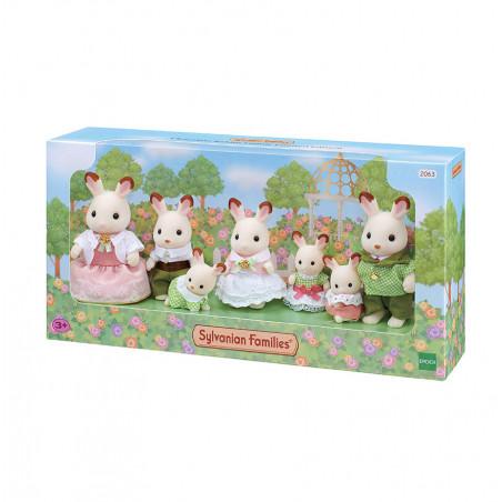 La famille lapin chocolat - ÉDITION PRESTIGE de Sylvanian Family - 3