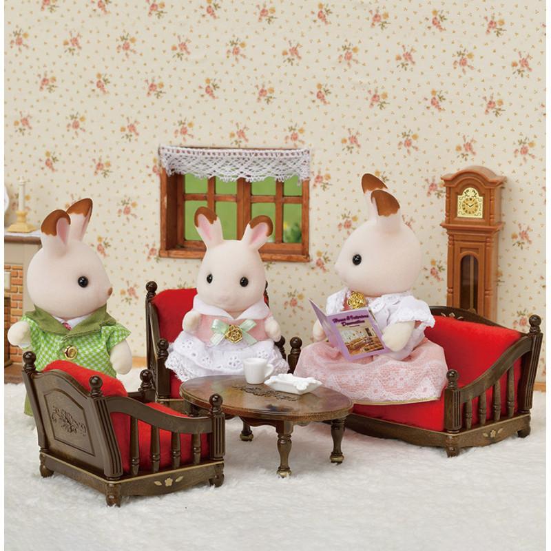 La salle de séjour - ÉDITION PRESTIGE Sylvanian Family