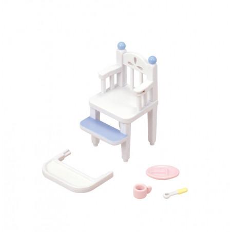 La chaise haute pour bébé de Sylvanian Family - 1