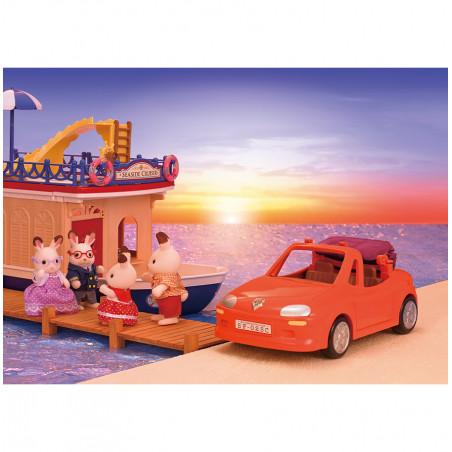 La voiture cabriolet de Sylvanian Family - 1