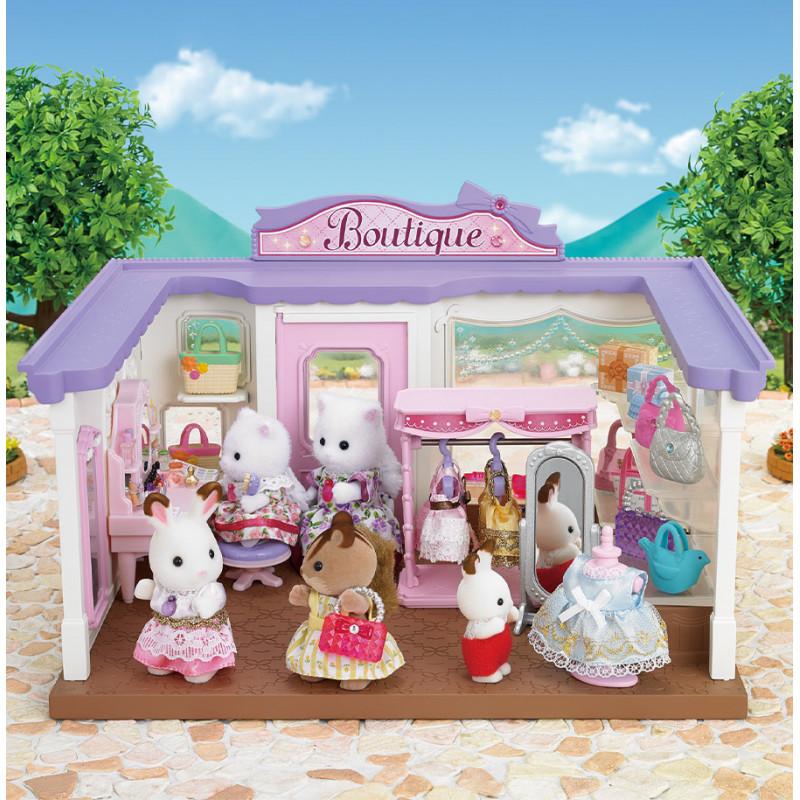 La boutique d'accessoires de mode et figurine Sylvanian Family