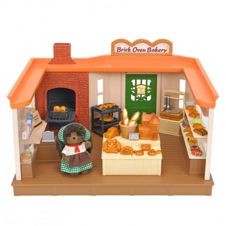 La boulangerie traditionnelle et maman hérisson de Sylvanian Family - 5