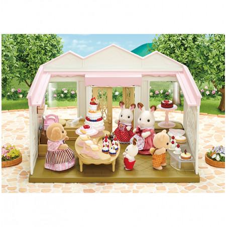 La boutique de gâteaux et maman caniche de Sylvanian Family - 1