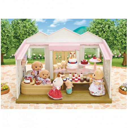 La boutique de gâteaux et maman caniche de Sylvanian Family - 2