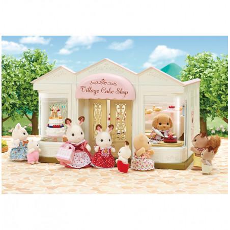 La boutique de gâteaux et maman caniche de Sylvanian Family - 3
