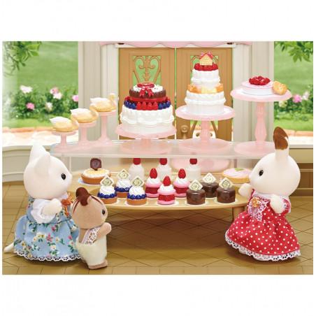La boutique de gâteaux et maman caniche de Sylvanian Family - 4
