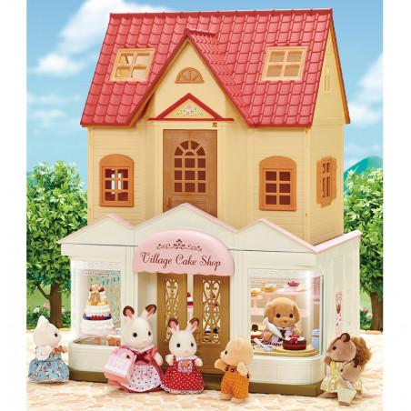 La boutique de gâteaux et maman caniche de Sylvanian Family - 5