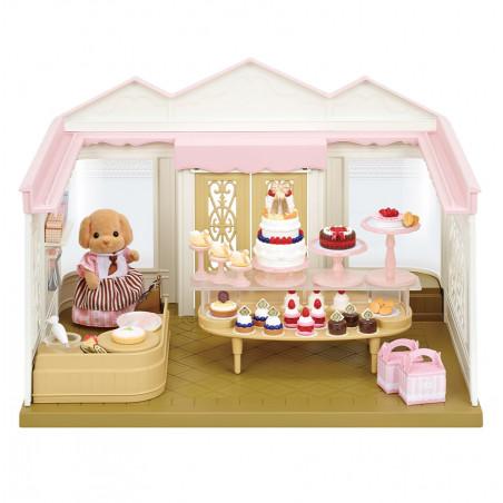 La boutique de gâteaux et maman caniche de Sylvanian Family - 7