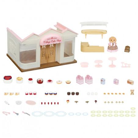 La boutique de gâteaux et maman caniche de Sylvanian Family - 8