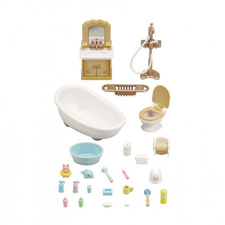 Le set salle de bains de Sylvanian Family - 4