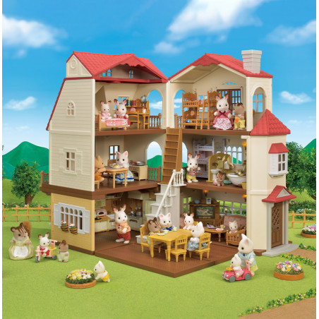 Le coffret cosy cottage du village de Sylvanian Family - 1