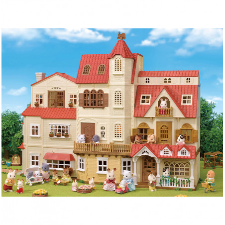 Le coffret cosy cottage du village de Sylvanian Family - 5