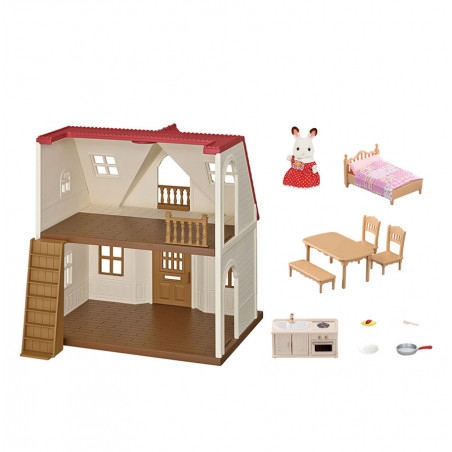 Le coffret cosy cottage du village de Sylvanian Family - 8