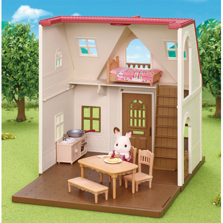 Le coffret cosy cottage du village de Sylvanian Family - 11