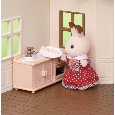 Le coffret cosy cottage du village de Sylvanian Family - 13