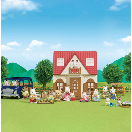 Le coffret cosy cottage du village de Sylvanian Family - 16