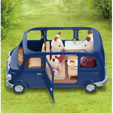 Le coffret cosy cottage du village de Sylvanian Family - 17
