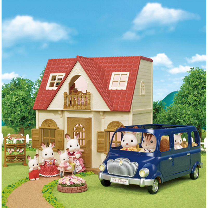 Le coffret cosy cottage du village Sylvanian Family