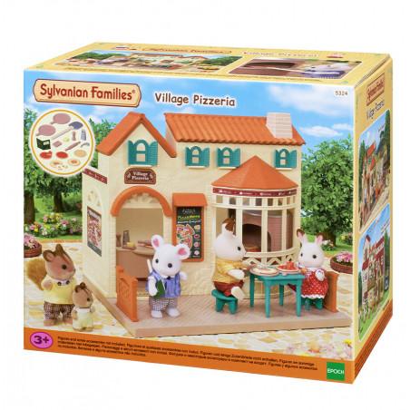 La pizzeria du village de Sylvanian Family - 7