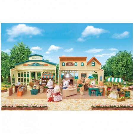La pizzeria du village de Sylvanian Family - 15