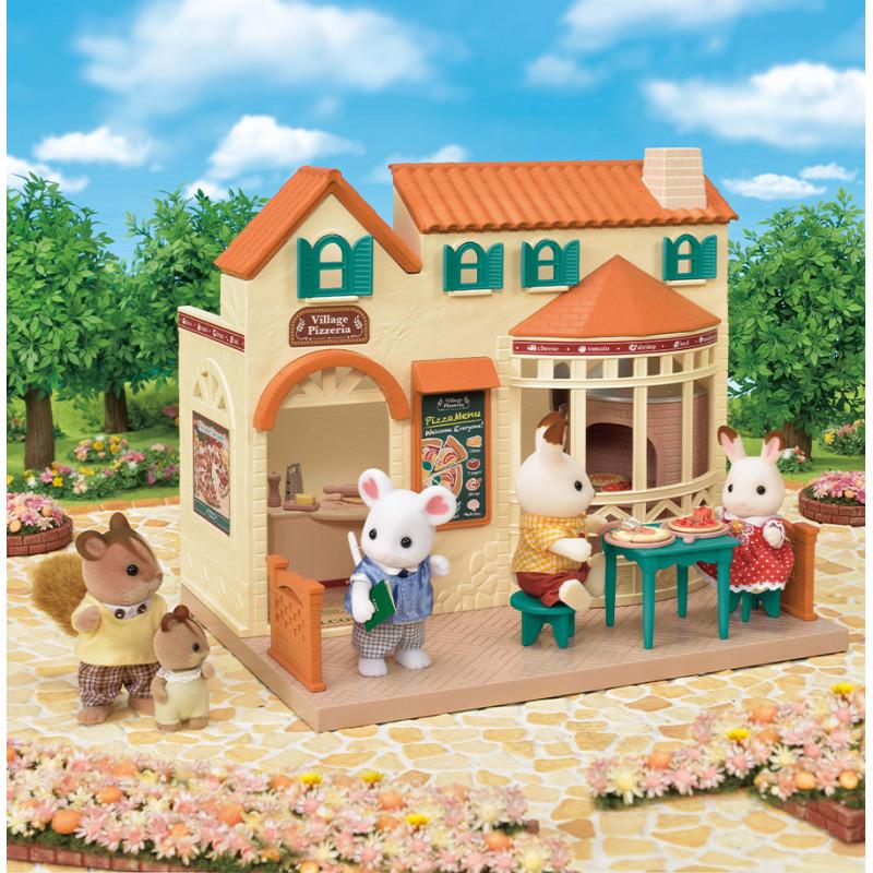 La pizzeria du village Sylvanian Family