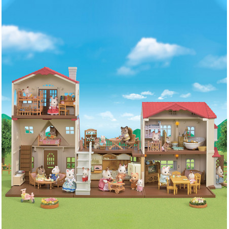 Le coffret cosy cottage du village de Sylvanian Family - 20