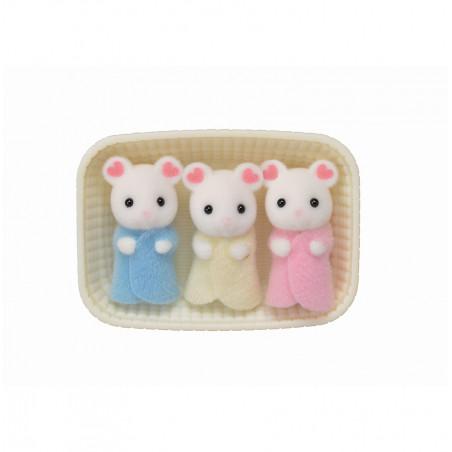Les triplés souris marshmallow de Sylvanian Family - 2