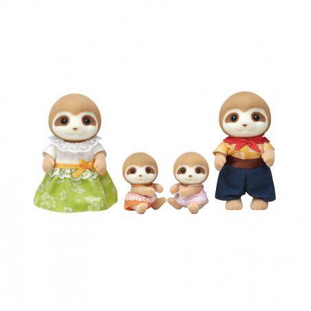 La famille paresseux de Sylvanian Family - 0